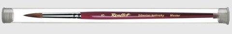 Кисть  Roubloff Колонок круглая0 туба никель серия 301Т