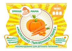 Морковно-тыквенное пюре