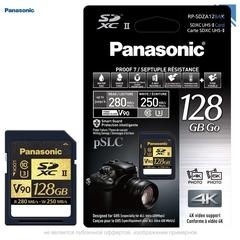Карта памяти Panasonic 128GB UHS-II SDXC