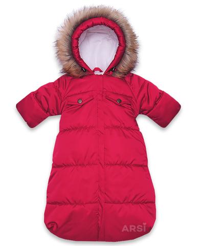ARSI Комбинезон-мешок Аляска красный