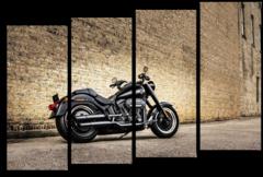 "Модульная картина ""Harley Davidson"""