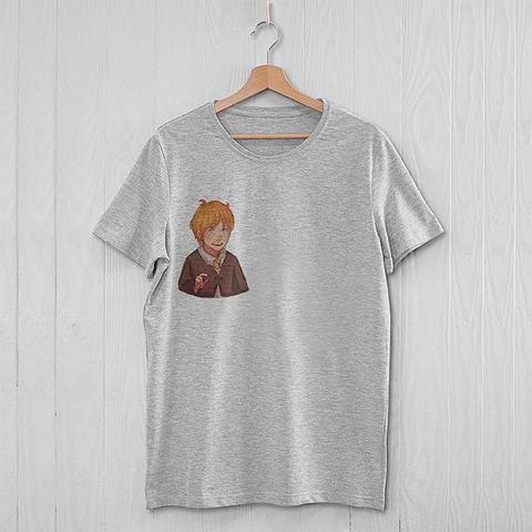Серая футболка с Роном