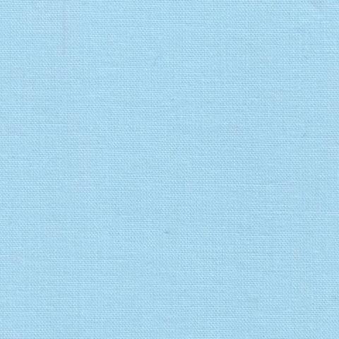 Простыня на резинке 200x200 Сaleffi Raso Tinta Unito с бордюром сатин небесно-голубая