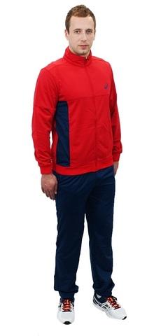 ASICS TRACKSUIT POLYWARP мужской спортивный костюм красный