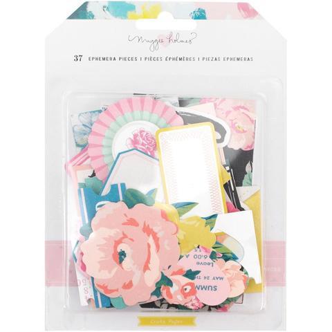 Высечки Ephemera Die-Cuts  - коллекция Chasing Dreams Maggie Holmes от Crate Paper 37шт.