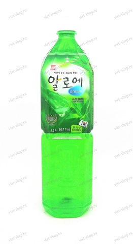 Корейский напиток с соком алоэ Aloe Dream, 1,5 л.