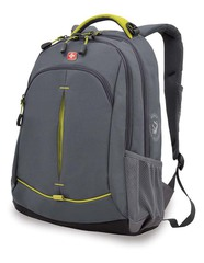 Рюкзак WENGER, цвет серый/лаймовый (3165426408)