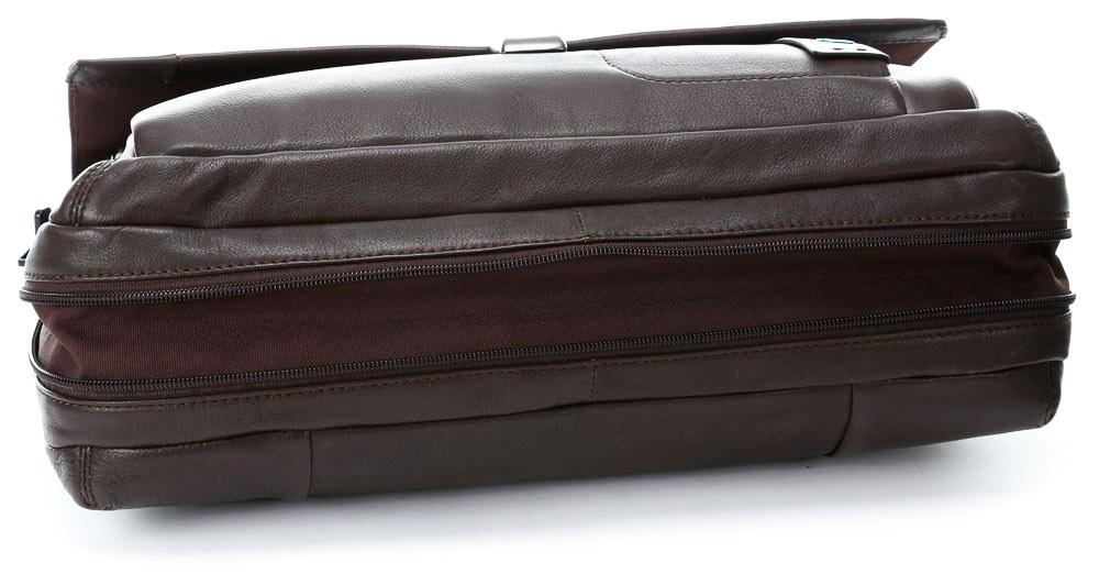 Сумка Piquadro Pulse, цвет коричневый, 29х41х1,2 см (CA3111P15/M)