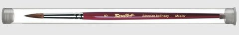 Кисть  Roubloff Колонок круглая 1 туба никель серия 301Т
