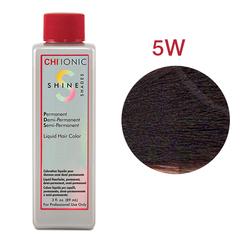 CHI Ionic Shine Shades Liquid Color 5W  (Средне тепло-коричневый) - Жидкая краска для волос