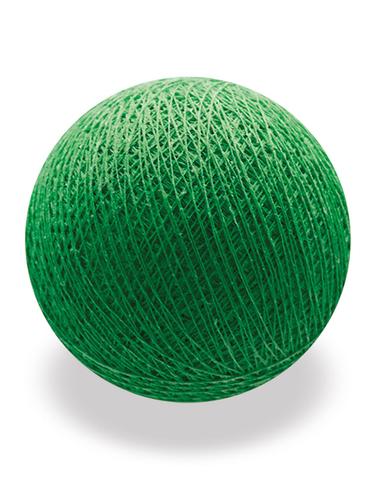 Хлопковый шарик зеленый
