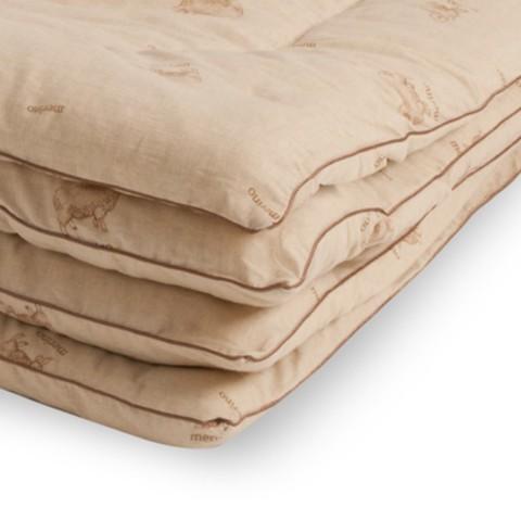 Одеяло из овечьей шерсти Полли 140x205 Isla