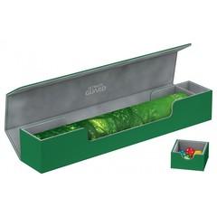 Ultimate Guard - Зелёная кожаная коробочка для игрового коврика