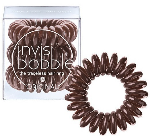 Invisibobble ORIGINAL Pretzel Brown резинка для волос