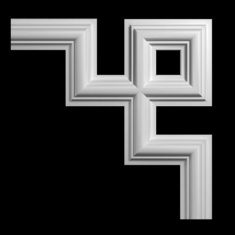 Угловой элемент Европласт из полиуретана 1.52.287, интернет магазин Волео