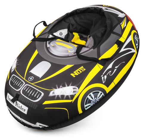 Тюбинг Small Rider Snow Cars BM ( черно - желтый)