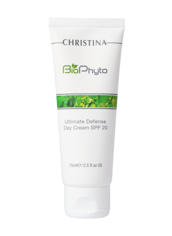Christina Bio phyto ultimate defense day cream spf 20 - Дневной крем абсолютная защита spf 20