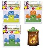 Зажимы предназначены  для быстрой и надежной упаковки пакетов с жид...