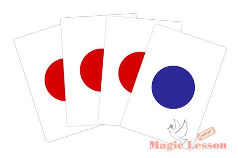 Набор карт для фокусов