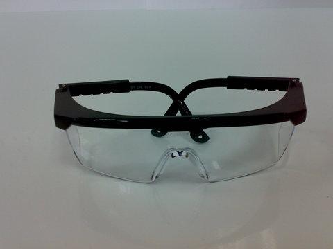 AL Очки защитные с плос. прозрач.линзами с защит. AL 026С