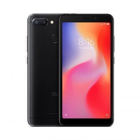 Смартфон Xiaomi Redmi 6 4GB/64GB  Black (Черный)