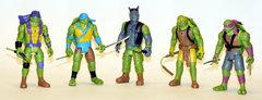 Черепашки-ниндзя Набор из 5 персонажей.