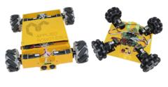 Учебный комплект продвинутого уровня для проектирования и конструирования шасси роботов с omni и mecanum кинематикой