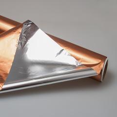 Полисилк металлизированный односторонний 20м (бронза)