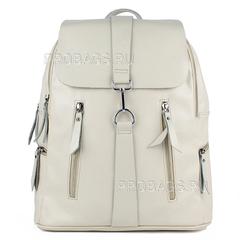 Рюкзак женский PYATO K-1971 Молочно-белый