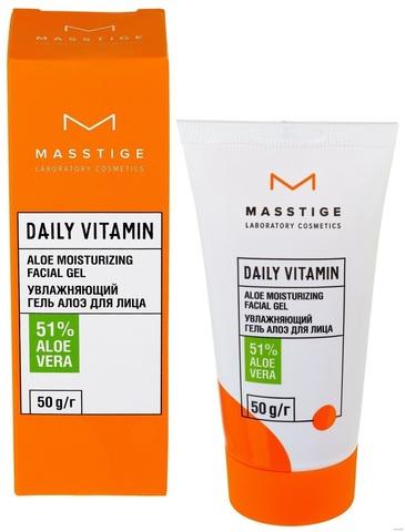 Masstige Daily Vitamin Гель для лица Увлажняющий Алоэ 50мл