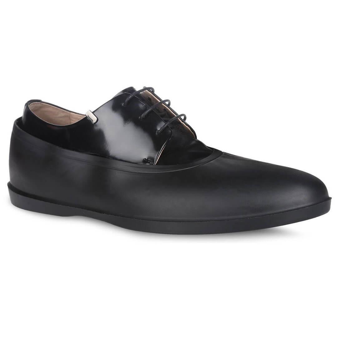 Галоши резиновые мужские черные Rain-Shoes