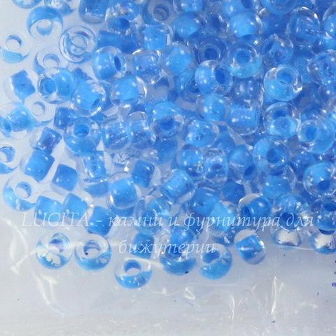 38336 Бисер 10/0 Preciosa Кристалл с голубым центром