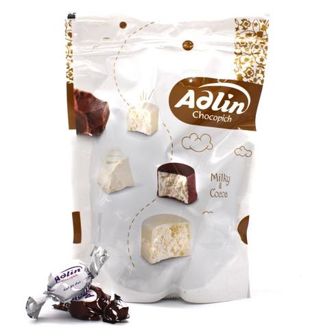 Пишмание с молочным и ванильным вкусом в глазури, Adlin, 350 г