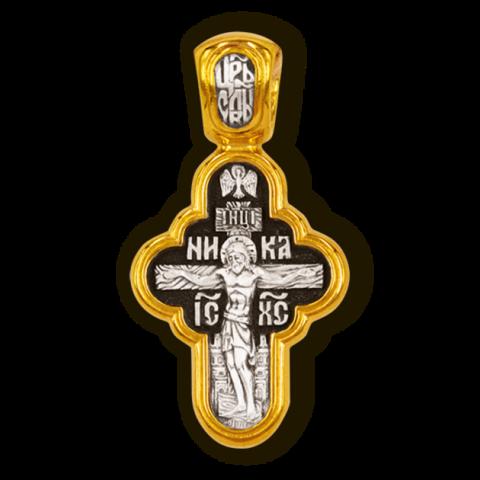 Распятие Христово. Владимирская икона Божией Матери. Православный крест