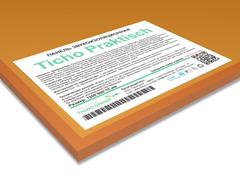 Звукоизоляционная панель  Ticho Praktisch  1200x800x15 на основе кварца