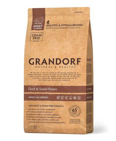 Grandorf Dog All breeds сухой корм для собак всех пород (утка с картофелем) 1 кг