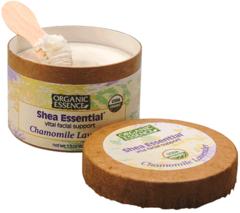 """Взбитый крем для лица с маслом Ши """"Ромашка и  Лаванда"""", Organic Essence"""
