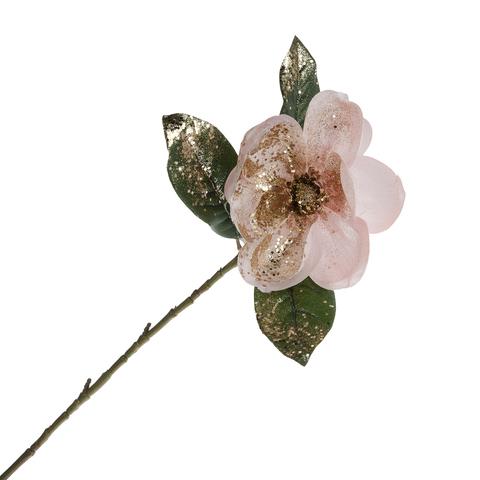 Магнолия розовая блестящая  73.5 см