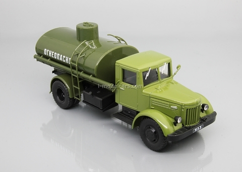 MAZ-200 AC-8-200 tanker green 1:43 DeAgostini Auto Legends USSR Trucks #22