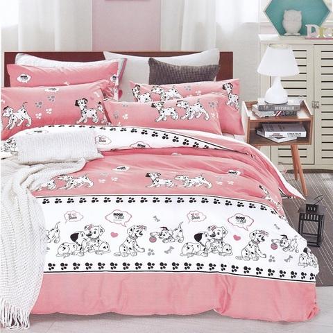 Подростковое постельное белье хлопок 1,5 сп.  DALMATIAN