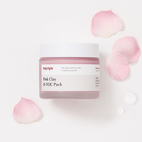 Очищающая маска-детокс, 65 мл / Manyo Pink Clay D-Toc Pack