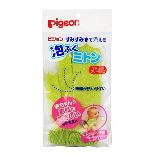 Мочалка детская /варежка/ Pigeon, -упаковка