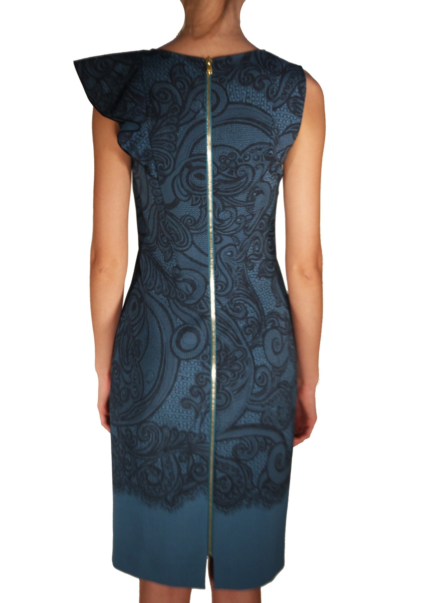 Платье из шерсти EMILIO PUCCI