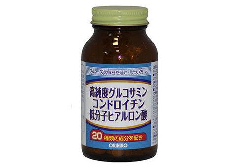 Глюкозамин +хондроитин+ гиалуроновая кислота