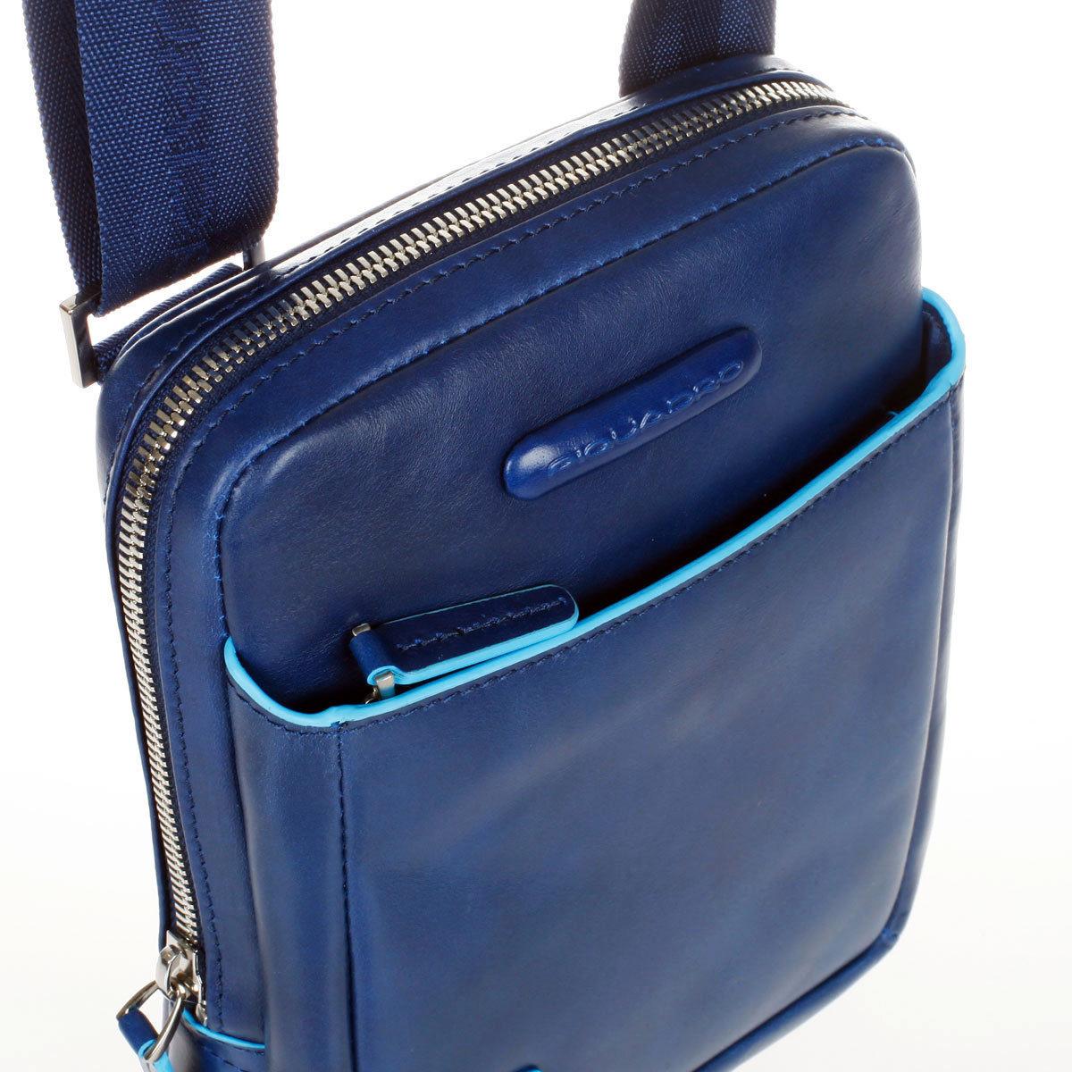 Сумка Piquadro Blue Square, цвет синий, 16x22x4,5 см (CA3084B2/BLU2)