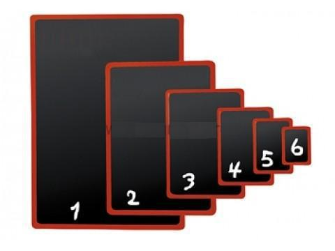 Черная табличка для нанесения надписей BB A2
