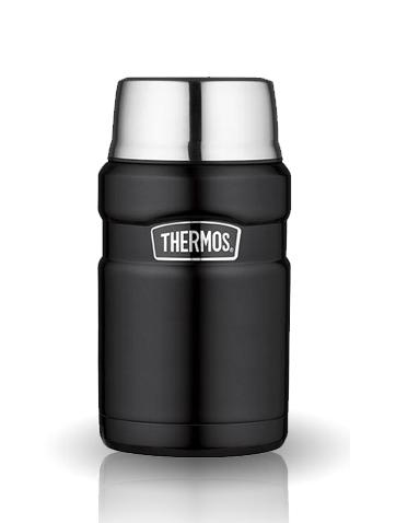 Термос для еды Thermos King SK3020 черный (0,7 литра)