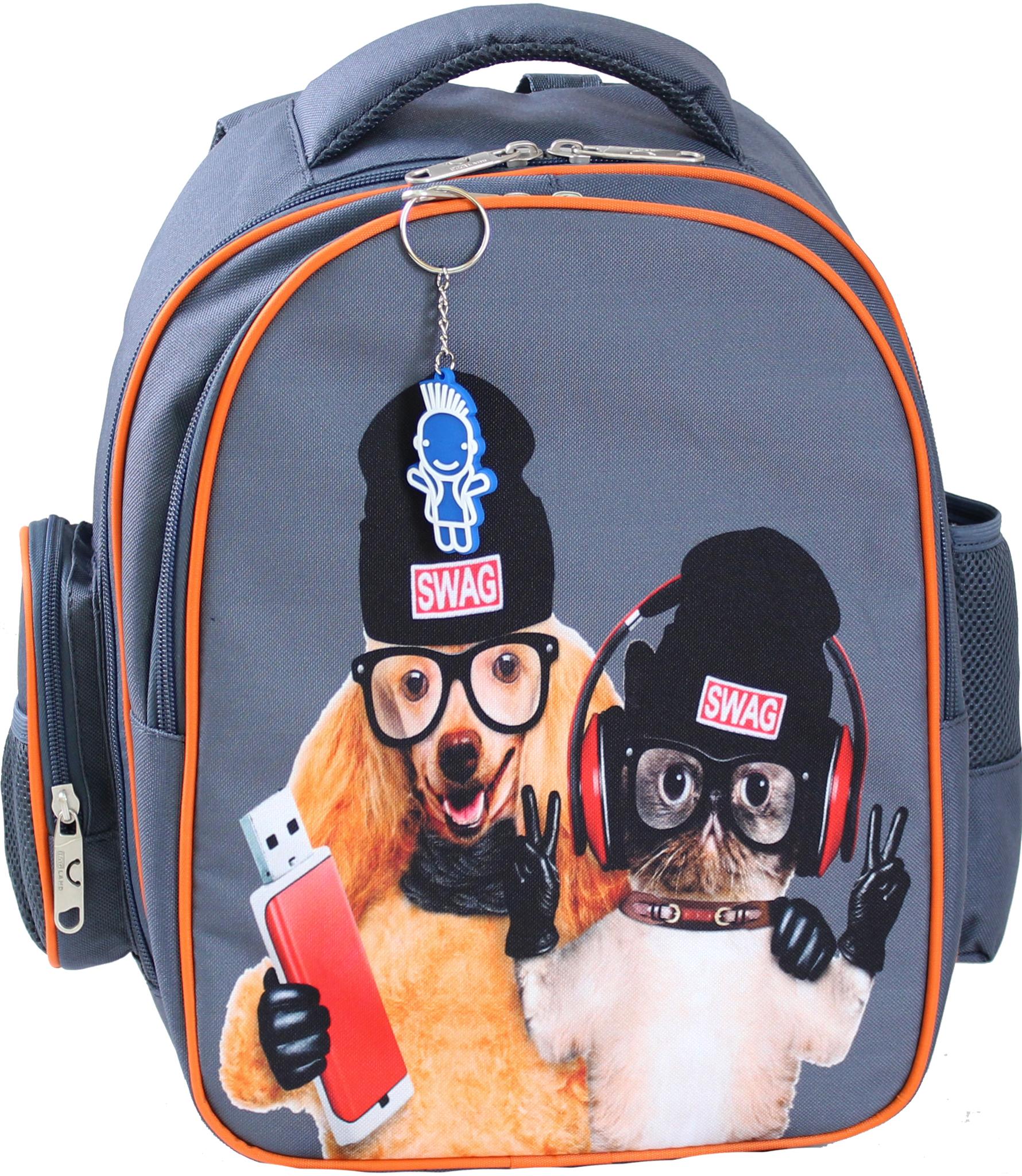 Школьные рюкзаки Рюкзак Bagland Pupil 14 л. серый 188 К (0012566) IMG_0148.JPG