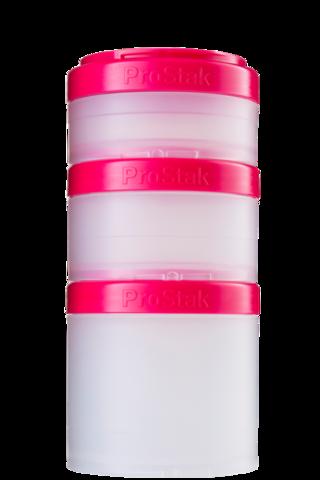 BlenderBottle ProStak Expansion Pak, 3+1 Контейнеры для еды и добавок + таблетница. 250мл 150мл 100мл