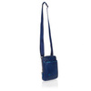 Сумка Piquadro Blue Square, синяя, 16x22x4,5 см